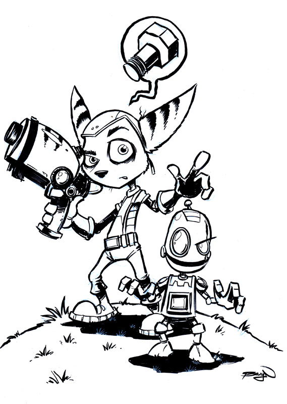 Clank Drawing