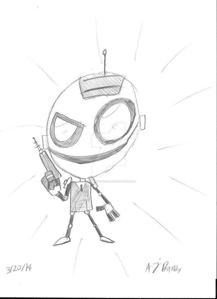 762x1048 Secret Agent Clank Drawing By Irkenartwork12