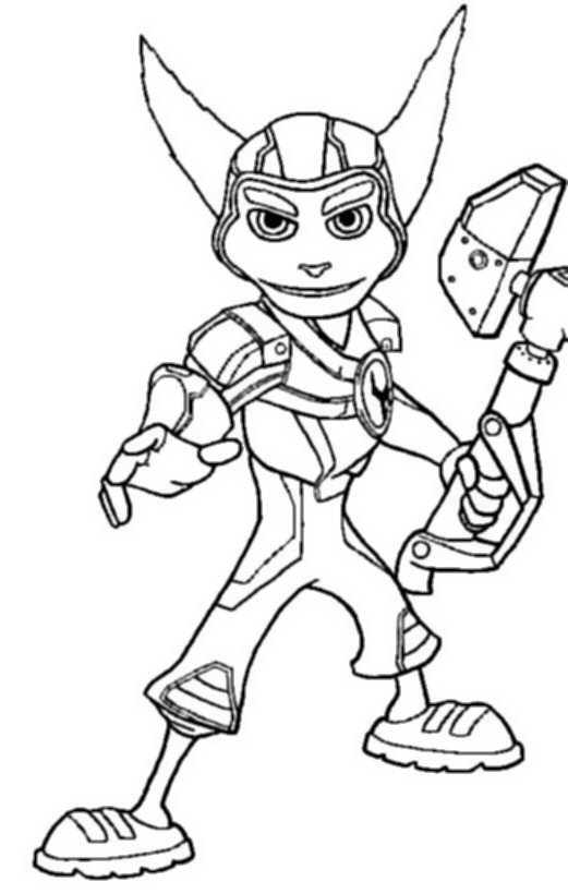 521x820 Ratchet And Clank Coloring Pages Kids N Fun 6 Coloring Pages