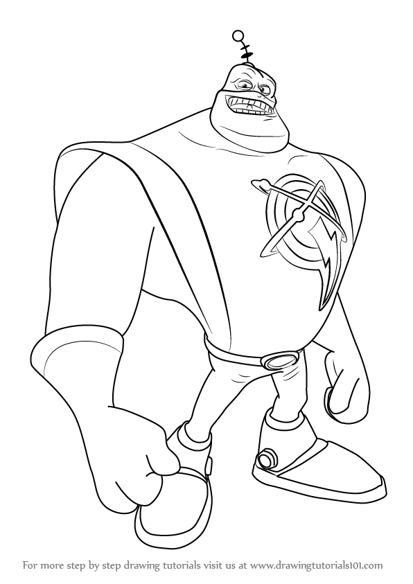 596x843 Learn How To Draw Captain Qwark From Ratchet And Clank (Ratchet