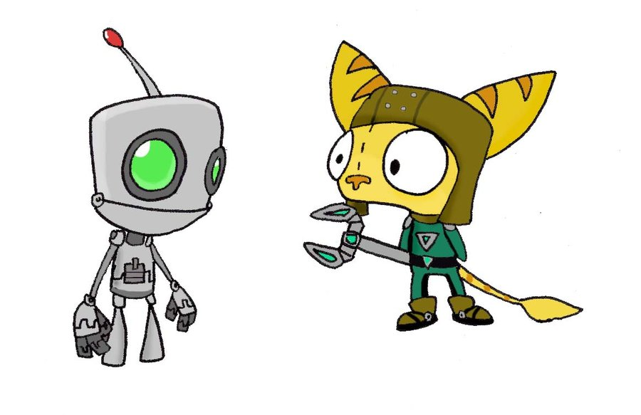 900x583 Gir As Ratchet And Clank By Electric Mongoose