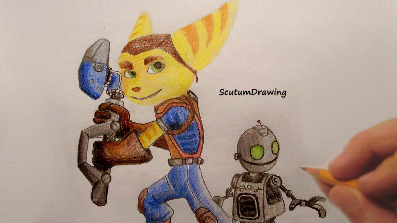 1366x768 Ratchet And Clank