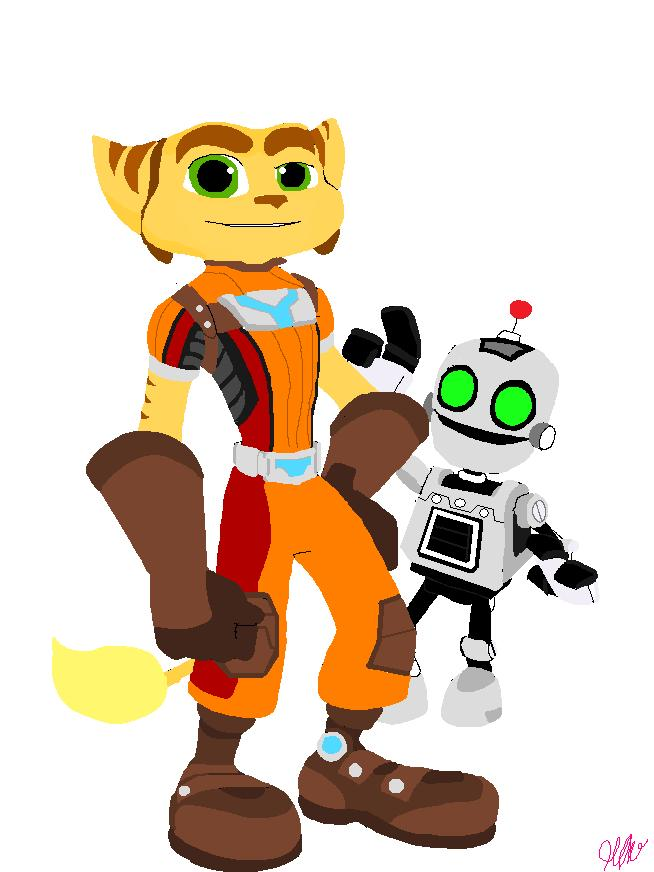 654x872 Ratchet And Clank A4o By Artsicat13