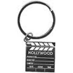 240x240 Director Board, Clap Board, Plastic Keyring, Perfect For Hollywood