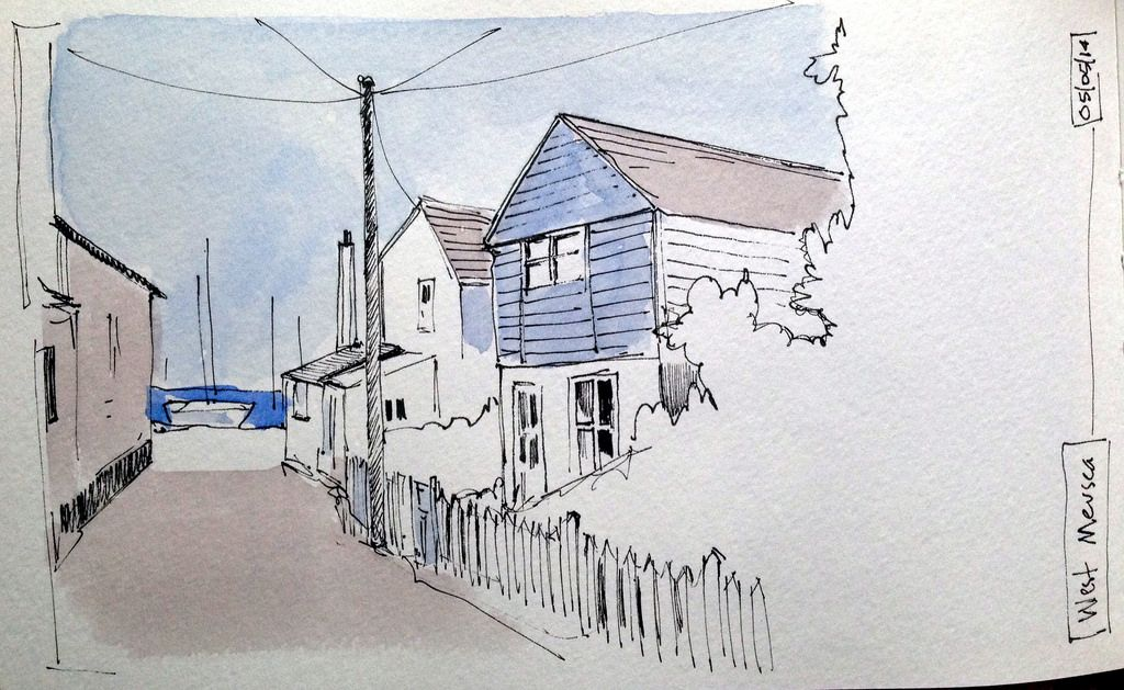 1024x629 Clapboard Houses John Harrison, Sketches And Artist