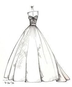 Clothes Design Drawing