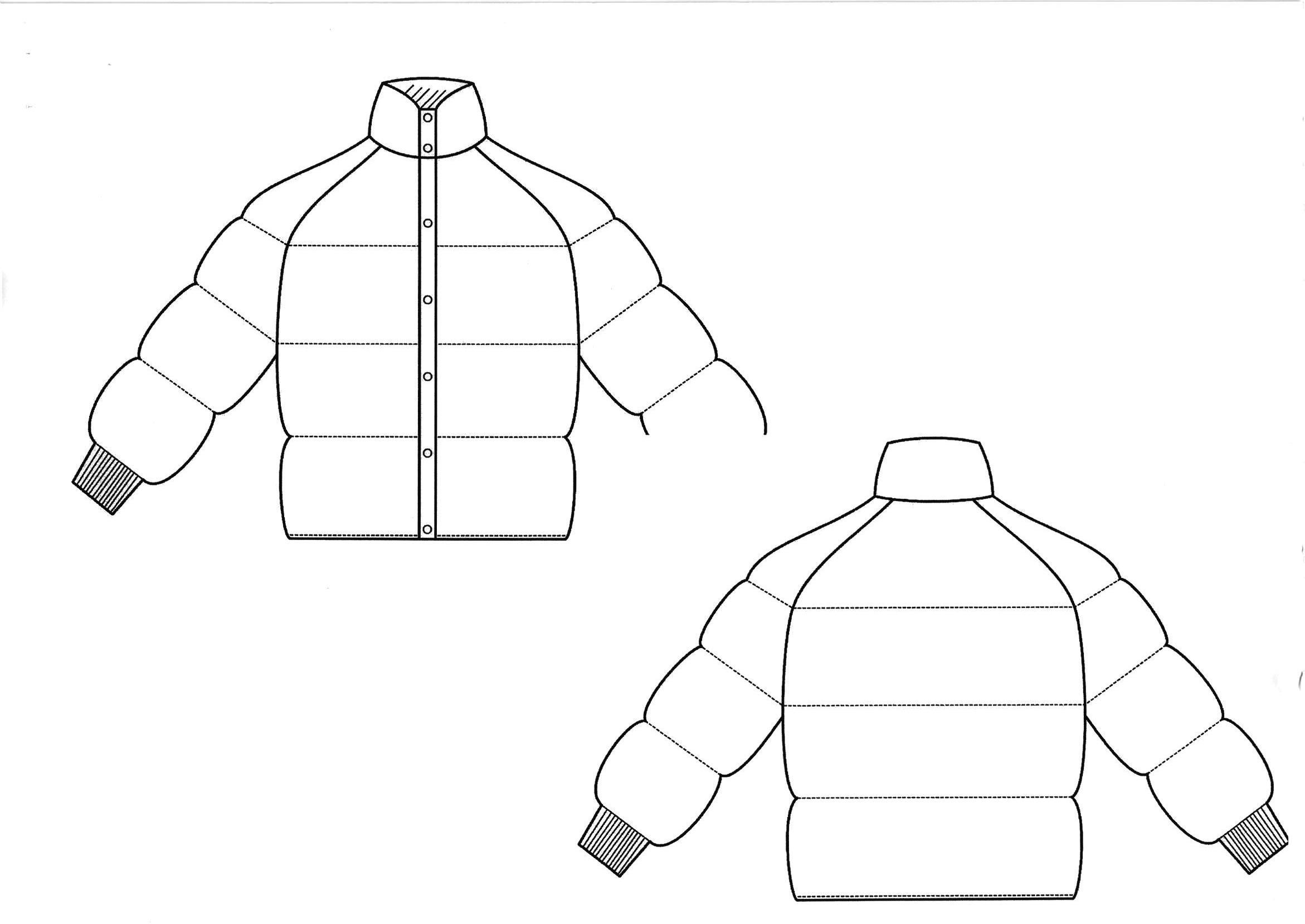 2342x1658 Technical Drawing Coat Technical Fashion