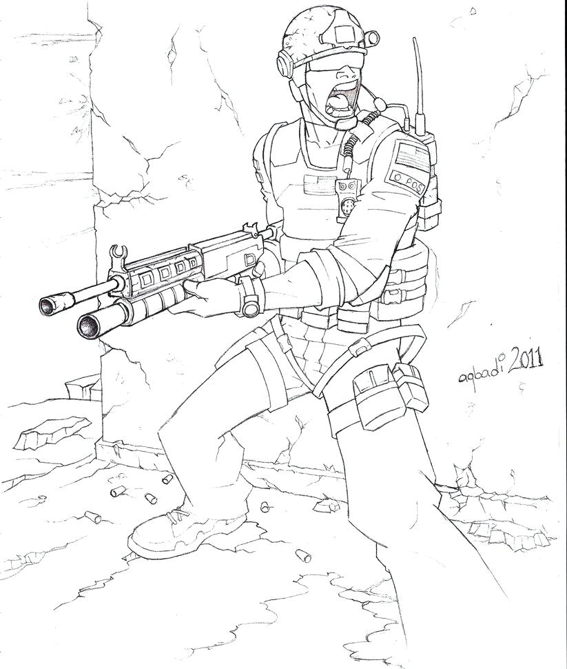 823x970 Call Of Duty Coloring Pages Best Of Call Duty Drawings Coloring