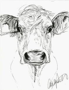 236x306 Coloured Pen Fine Liner Portrait Face Drawing Sketch Line Layers