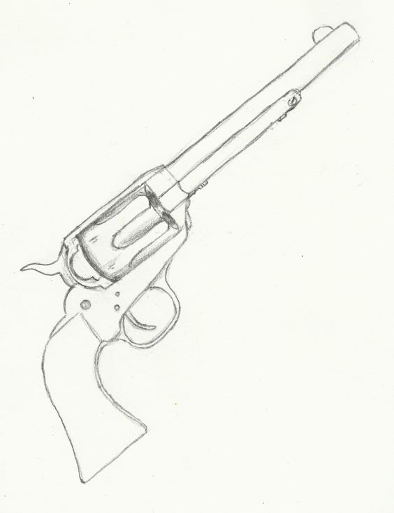 564x733 Wesson Revolver Patent Drawing