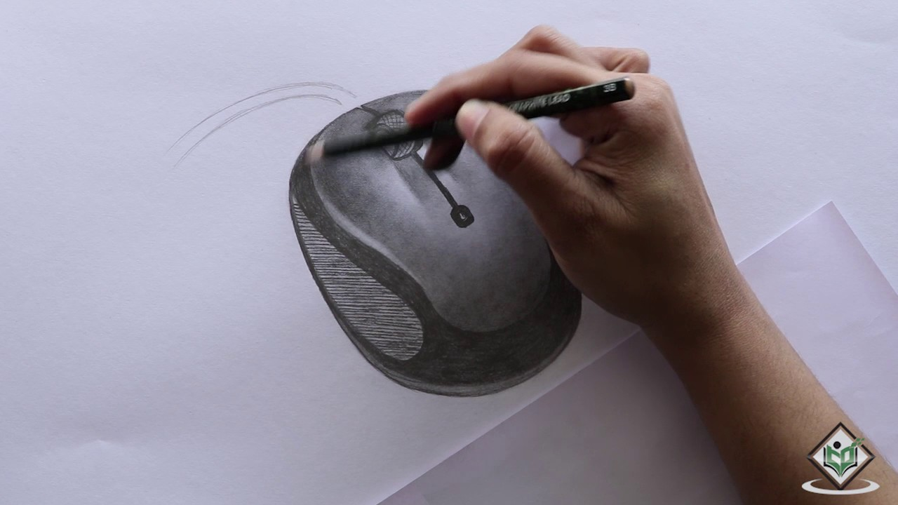 1280x720 How To Sketch A Computer Mouse