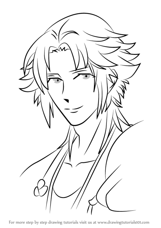 565x800 Learn How To Draw Asahina Kaname From Brothers Conflict (Brothers