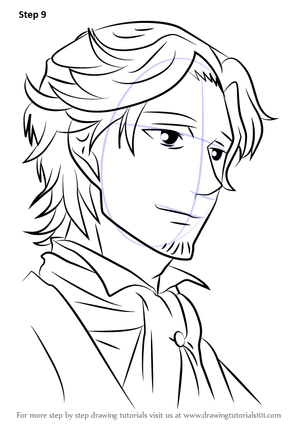 596x843 Learn How To Draw Hinata Rintarou From Brothers Conflict (Brothers