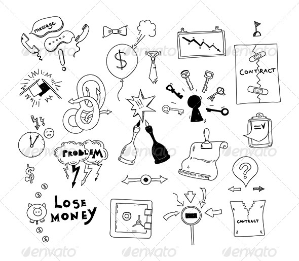 590x515 Business Interest Conflict Hand Drawn Illustration By Bloomicon