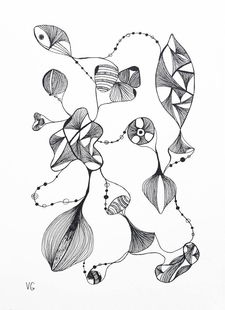 770x1060 Saatchi Art True Connection 3 Drawing By Viktoriya Gorokhova