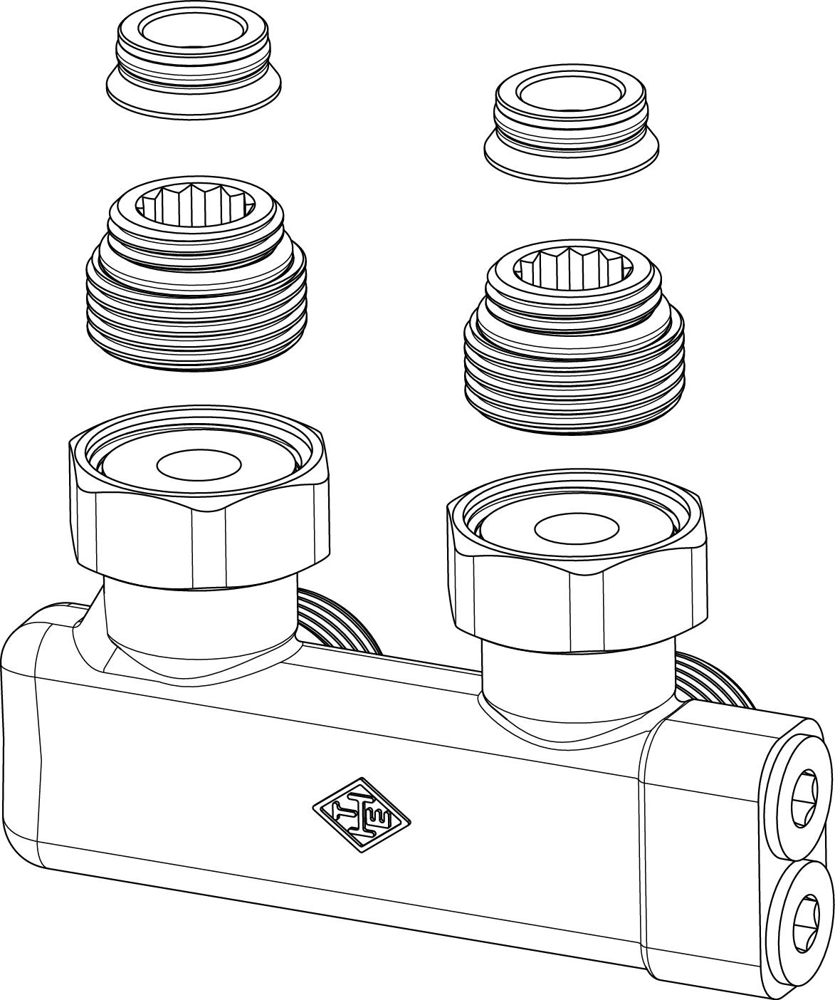 1173x1404 Vekolux Valves For Radiators With Integrated Valve