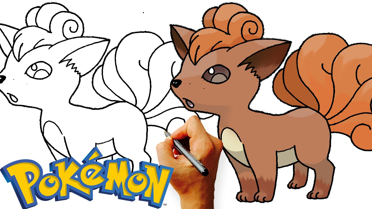 1280x720 How To Draw Vulpix Pokemon Step By Step Art Lesson