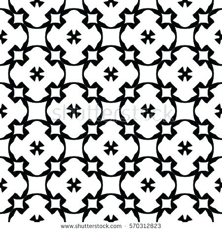 450x470 Simple Black And White Patterns Related For Cool Drawings Designs