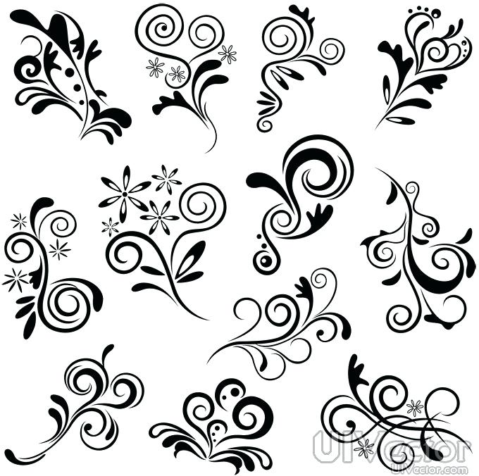 680x676 Black And White Patterns Draw Cool Black And White Designs
