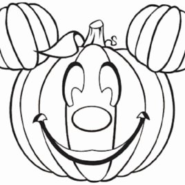 268x268 Free Printable Pumpkin Coloring Sheets Unique Coloring Page