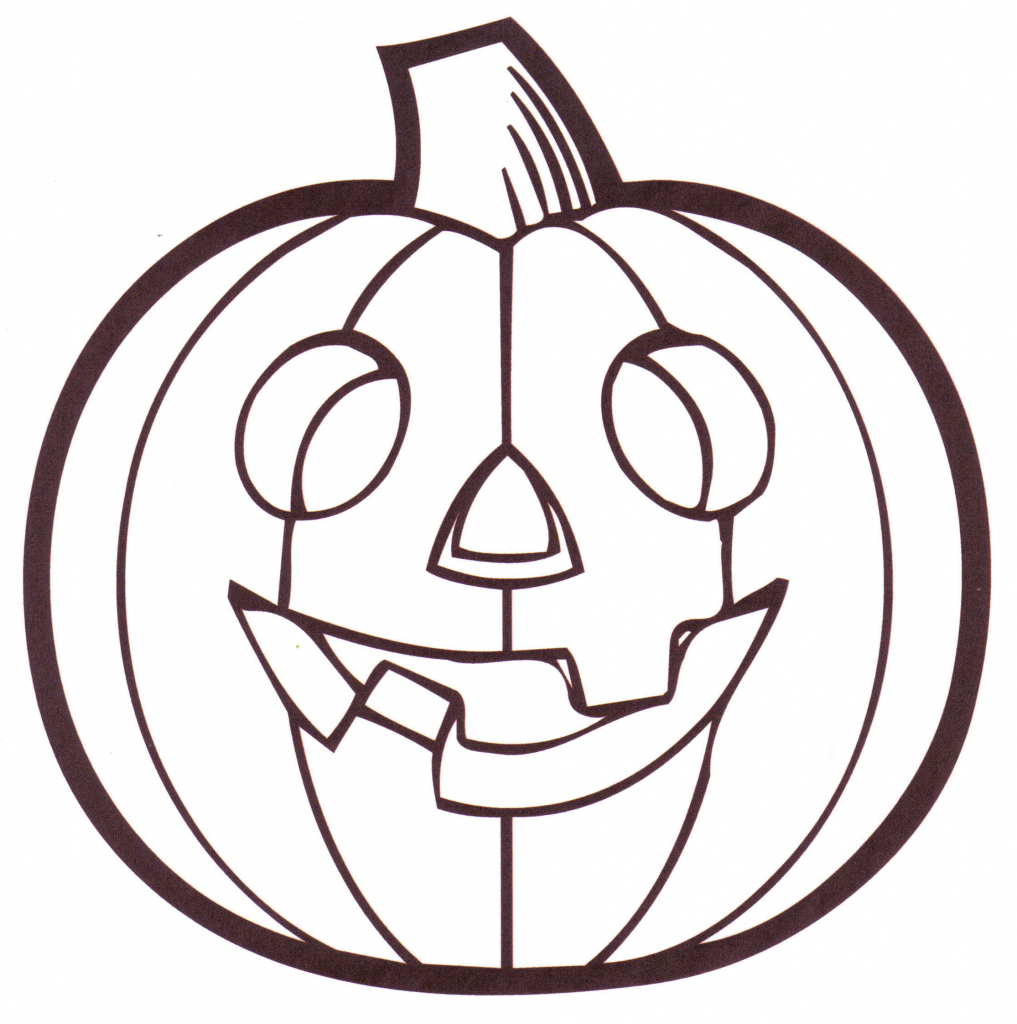 1017x1024 Simple Pumpkin Drawing 31 Easy Pumpkin Carving Ideas For Halloween