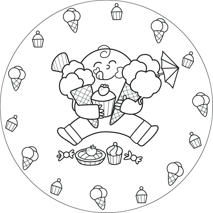 700x700 Coloriage De Creme Glacee Ice Cream Coloring Page Coloriage Cornet