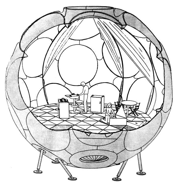 727x756 Buckminster Fuller's 1965 Patent Of His