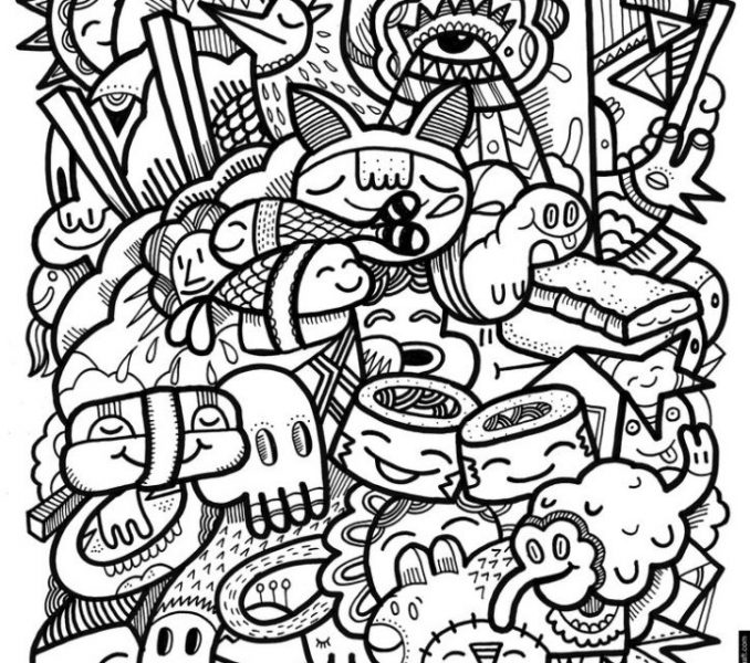 678x600 Crazy Coloring Pages 23 Crazy Design Coloring Pages Coloring Pages