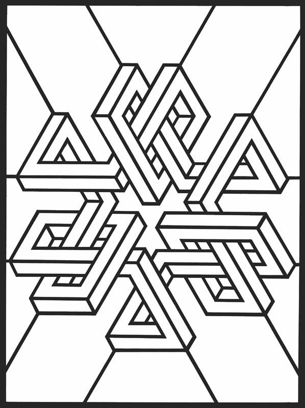 Creative Drawing With Geometric Shapes At Getdrawings Com Free For