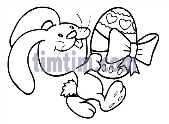 Creepy Bunny Drawing