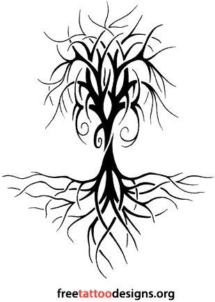 309x434 Drawn Dead Tree Intricate