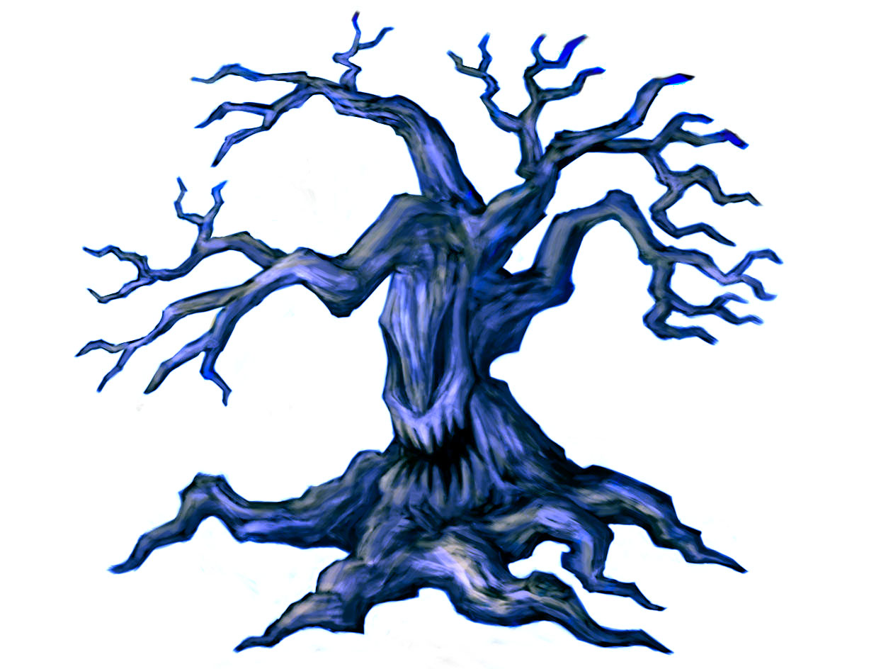 1261x944 Collection Of Creepy Dead Tree Drawing High Quality, Free