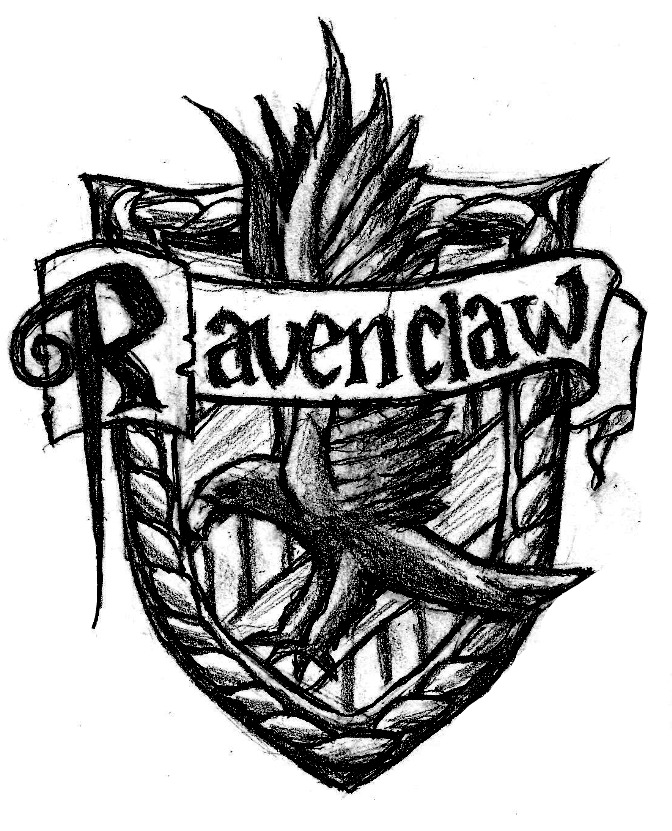 672x831 Ravenclaw Crest By Windsnap212