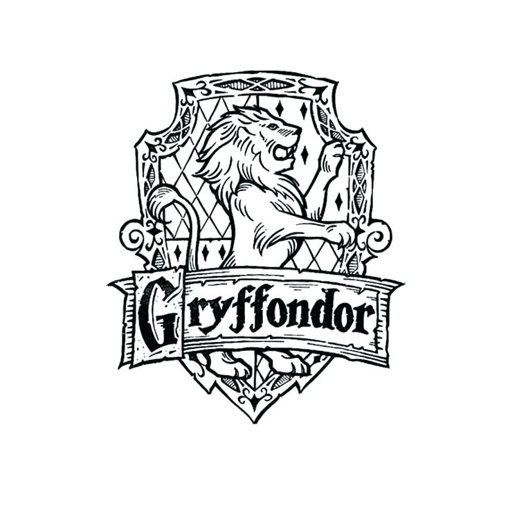 760x760 Crest Coloring Page Trend Harry Potter Free Coloring Crest