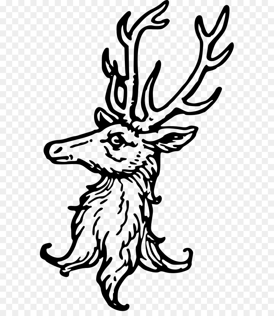 900x1040 Deer Complete Guide To Heraldry Drawing Crest