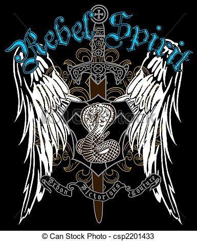 385x470 Cross Heraldic Crest Eagle Drawings