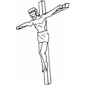 Crucifixion Of Jesus Drawing