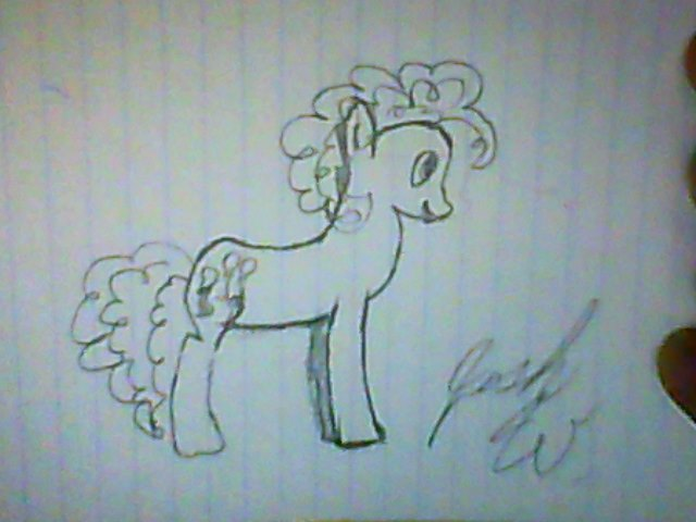 640x480 Pinkie Pie Crude Drawing By Crossfade63