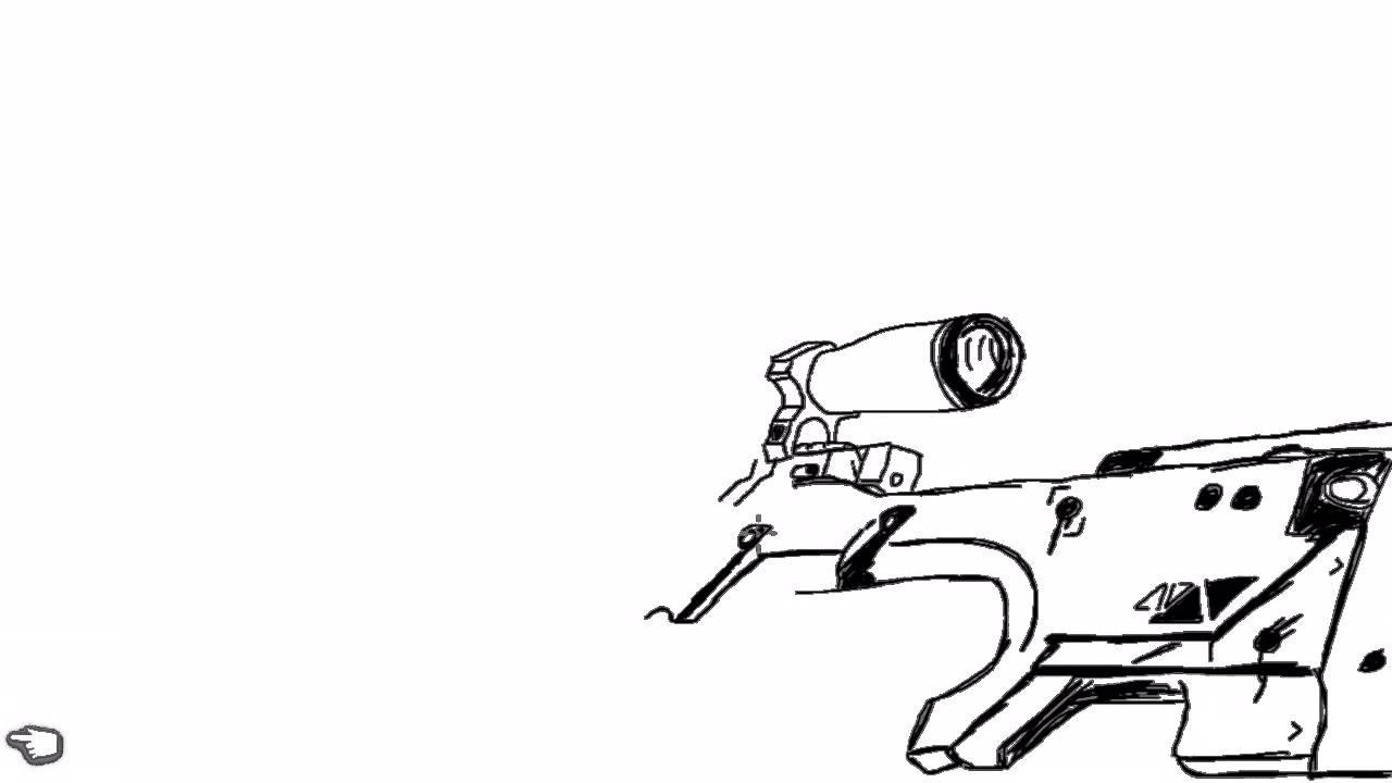 1280x720 Drawn Sniper Cs Go