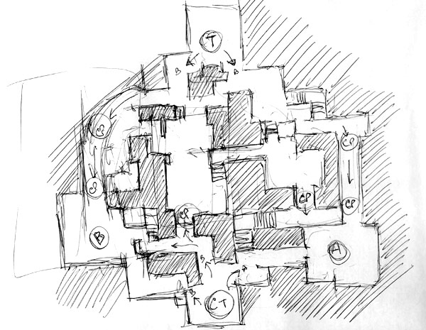 600x465 Collection Of Csgo Drawing Map High Quality, Free Cliparts