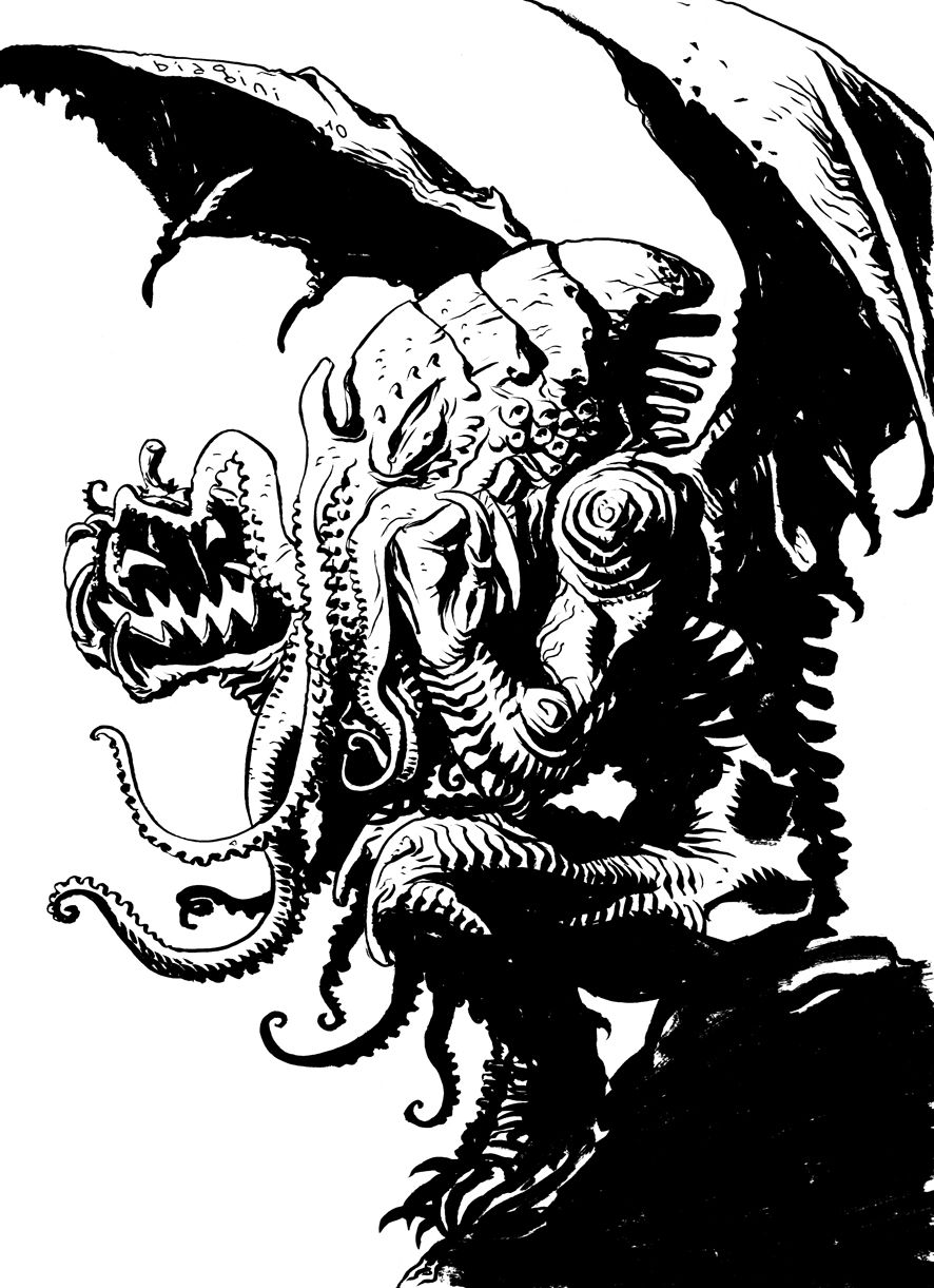 886x1221 Cthulhu Or Treat By Francesco Biagini On Type Coc