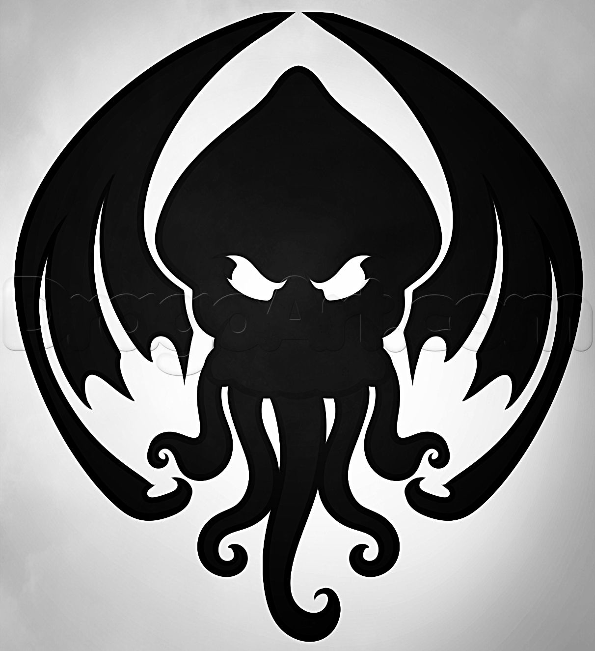 1212x1325 Image From To Draw Cthulhu