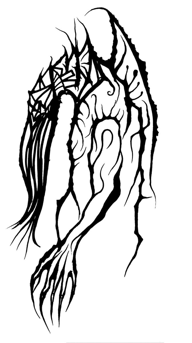 670x1192 Cthulhu Initial Sketch Work By Viralprogenitor