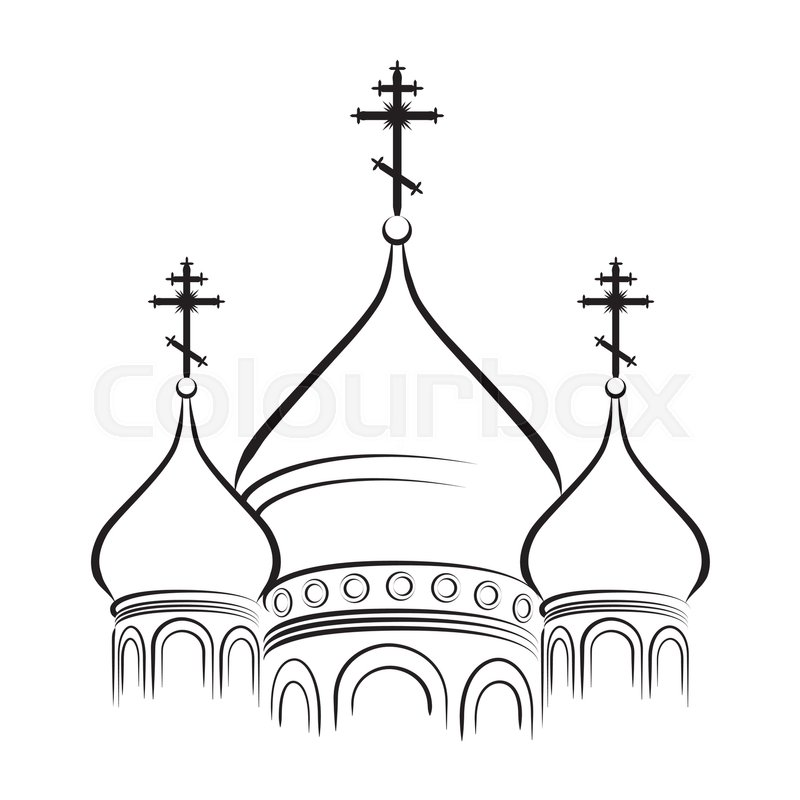 800x800 The Bulbous (Onion Shaped) Domes Of Orthodox Cathedral Temple
