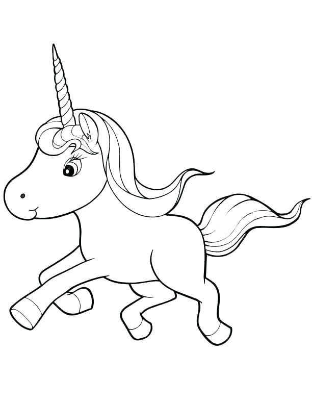 612x792 Baby Unicorn Coloring Pages Unicorn Color Pages Baby Unicorn