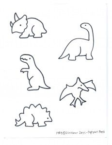 231x298 Delightful Dinosaur Day Songs, Tattoo And Outlines