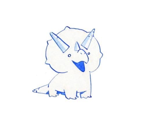 500x417 Baby Triceratops Tumblr