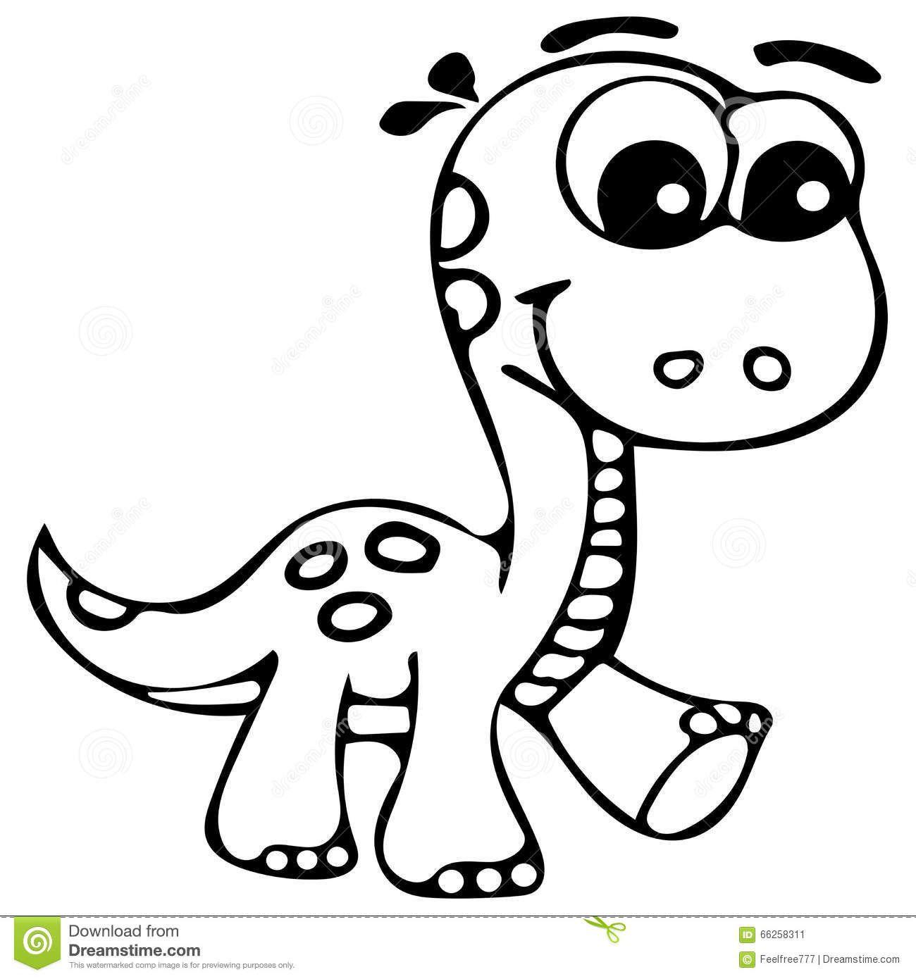 1300x1390 Cute Dinosaur Drawing How To Draw Cute Kawaii Cartoon Baby