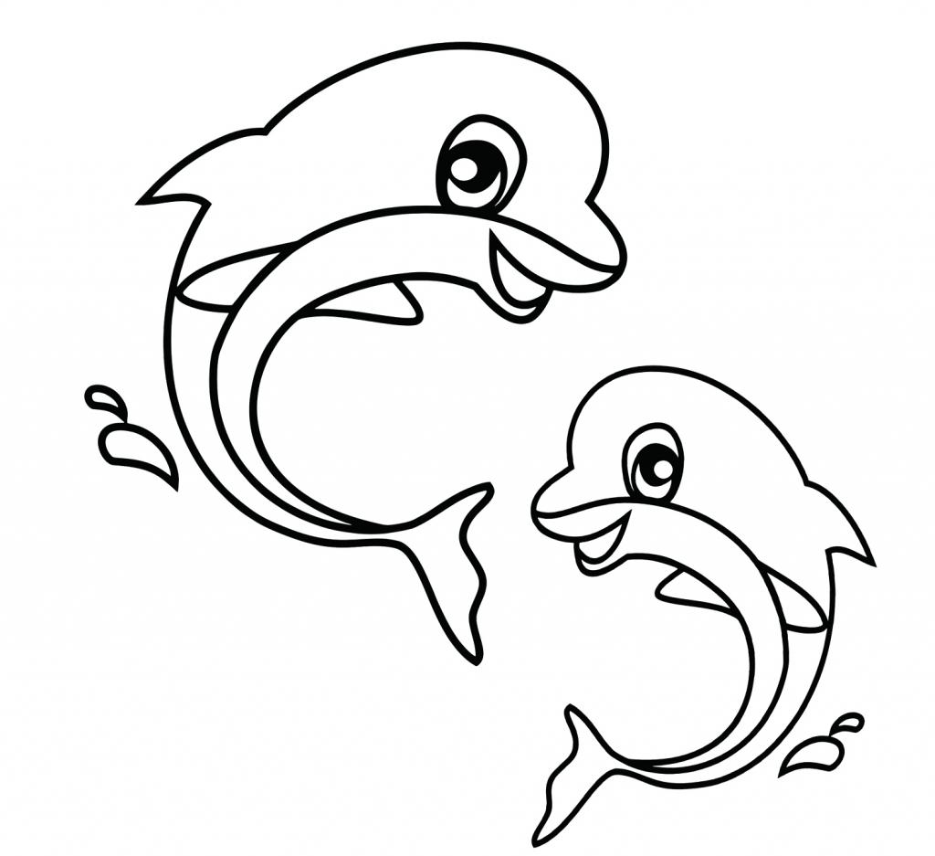 1024x937 Cute Drawings Of Sea Animals Easy Sea Animals To Draw Cute Sea