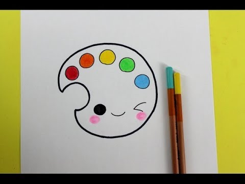 480x360 Cute Easy Drawings How To Draw Colors Drawing For Kids